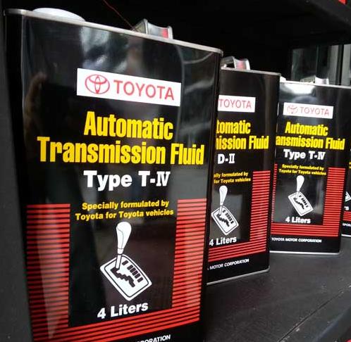 Toyota - Акпп: объемы и типы жидкостей  Toyota - Акпп: объемы и типы жидкостей atf toyota